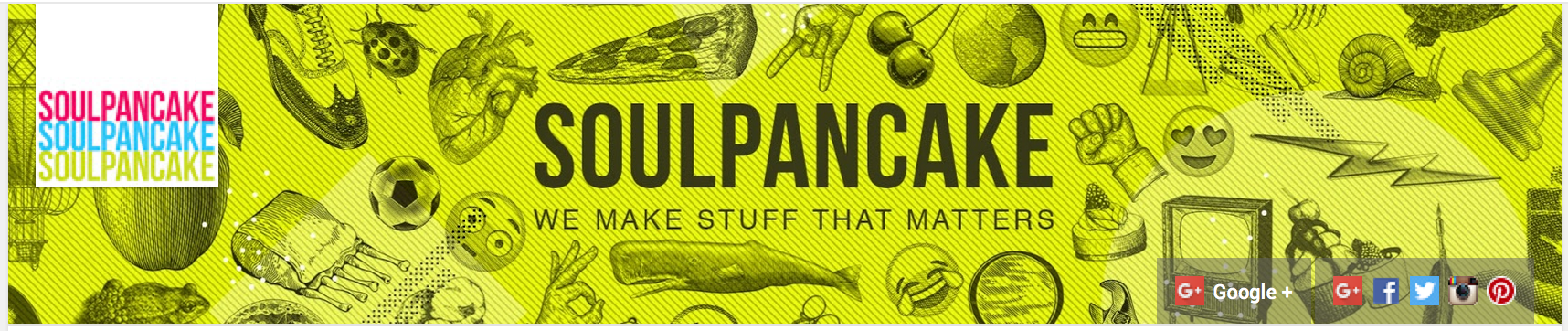 SoulPancake YouTube Banner