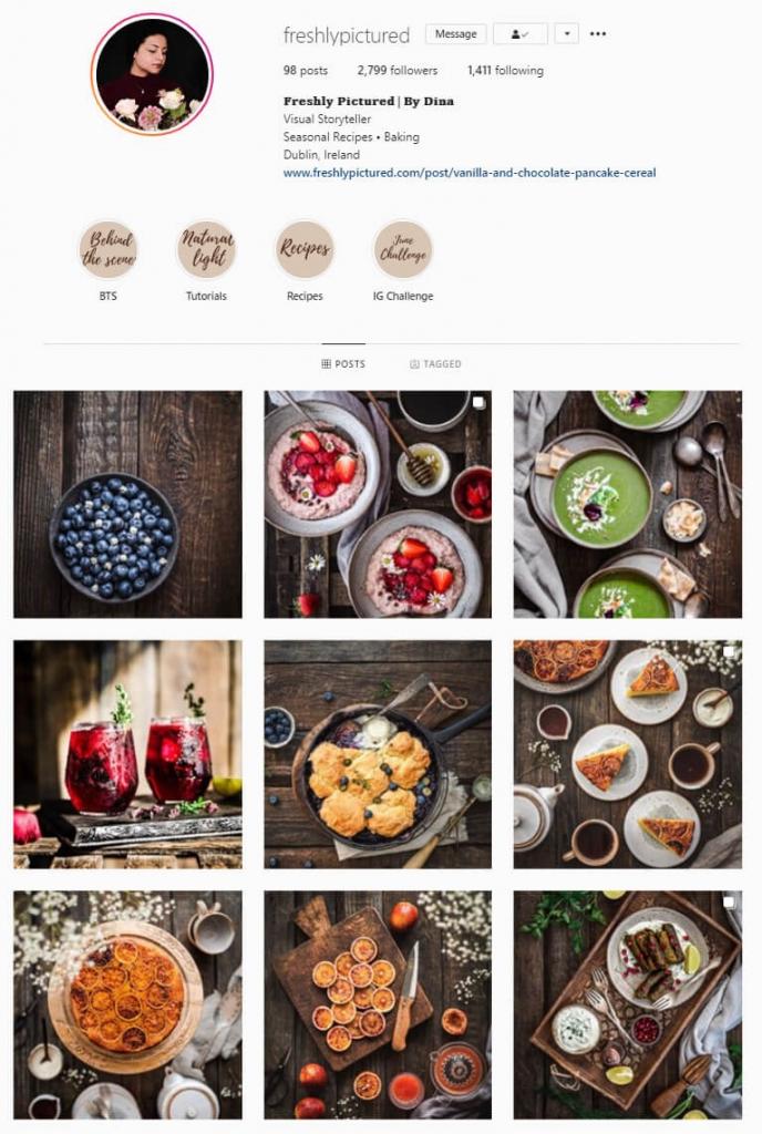 instagram feed ideas flatlay theme