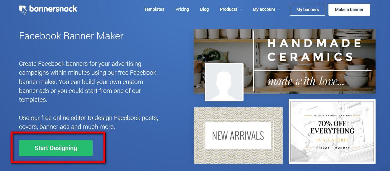 Facebook banner maker