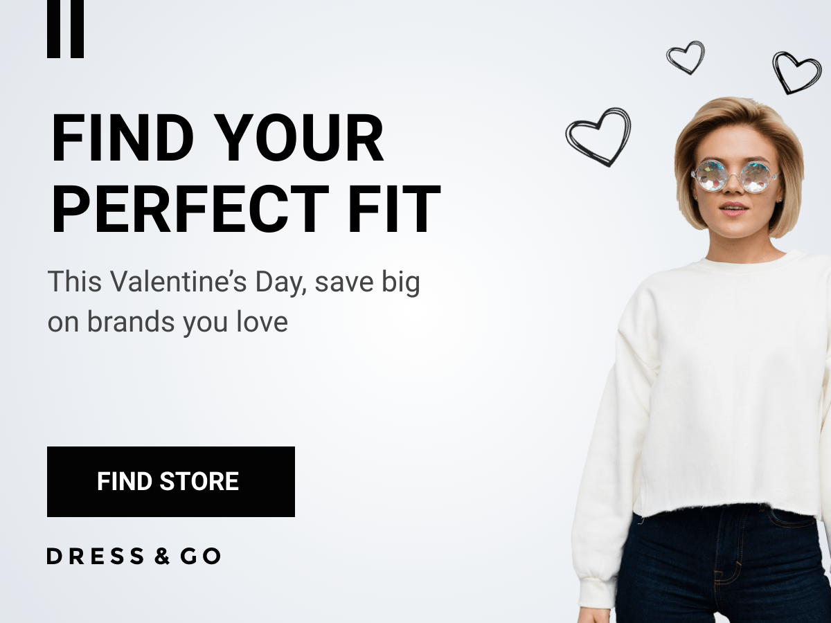 valentine's day sale template