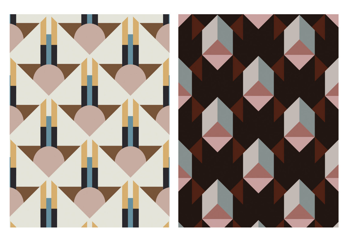Modernist-patterns - graphic design patterns