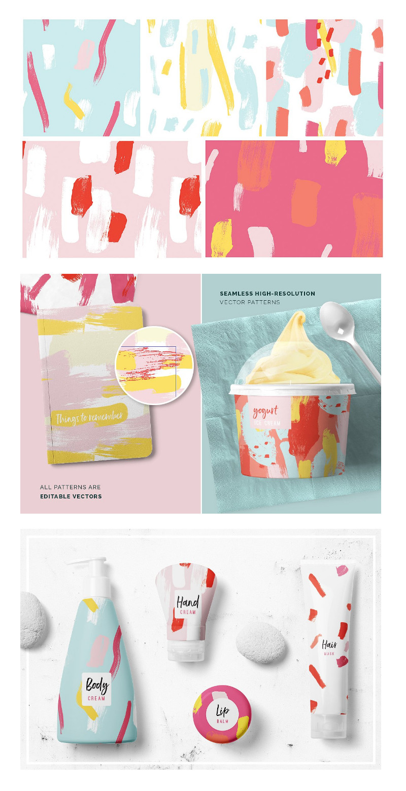 watercolor-patterns-graphic design patterns