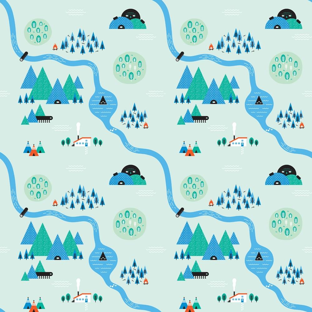 illustrations-patterns- graphic design patterns