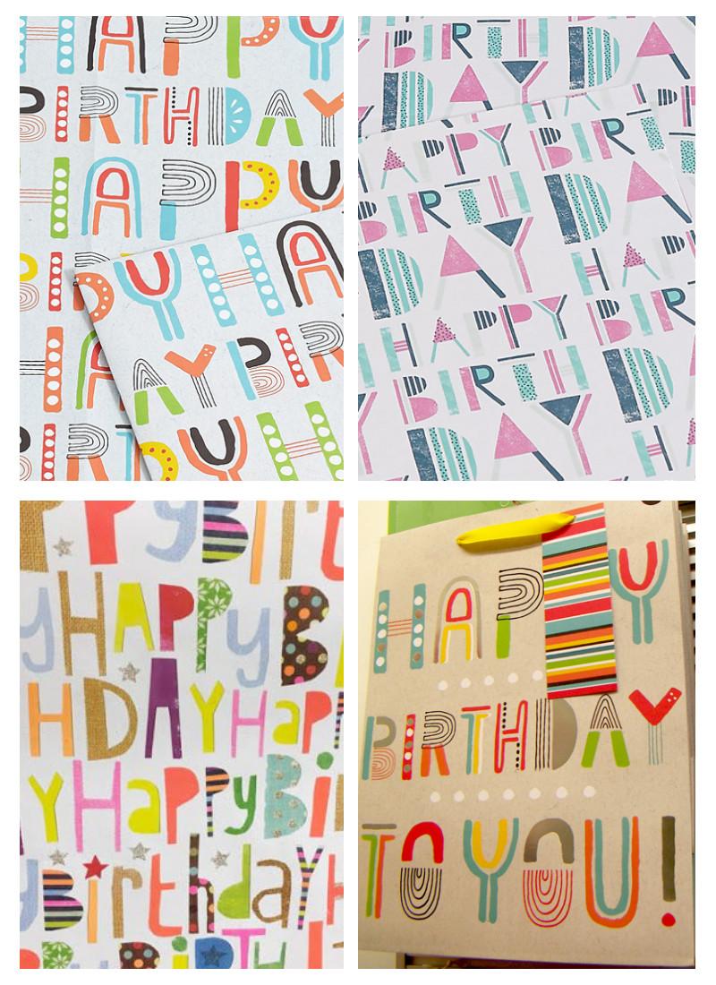 graphic design patterns - typography patterns