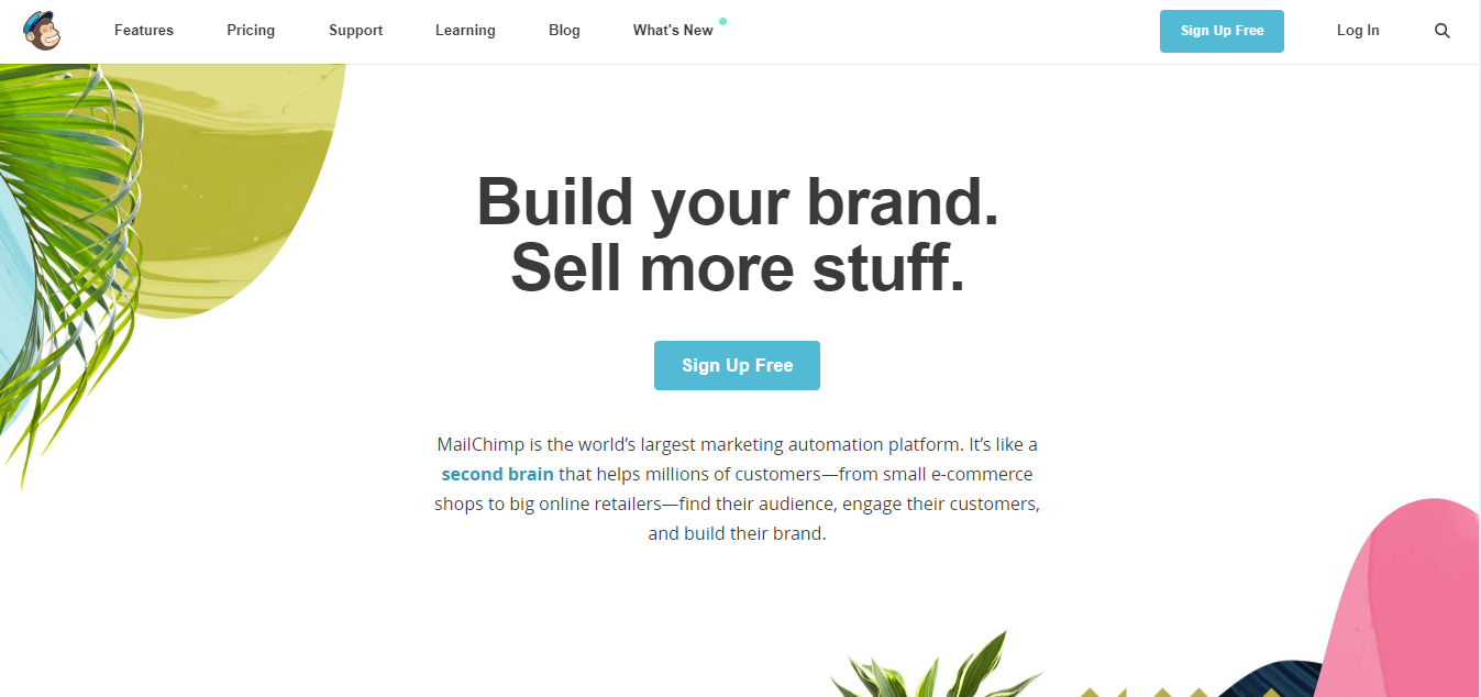 white-space-in-landing-pages