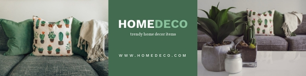 Etsy Banner for Home Decor