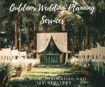 wedding planning services