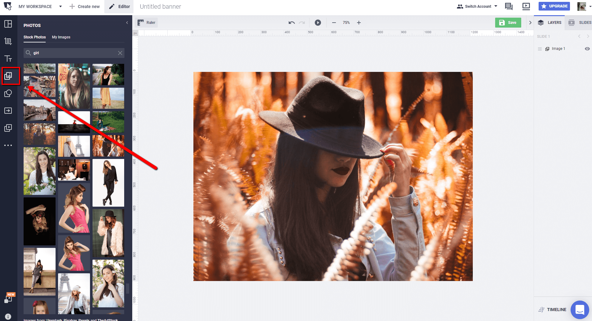 how to add filter to photos - blog images