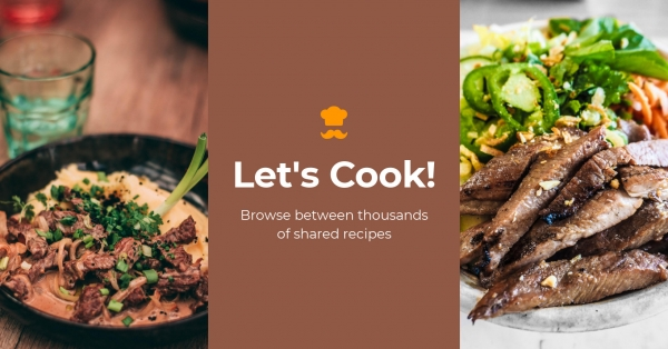 Facebook Group Cover Template Cooking
