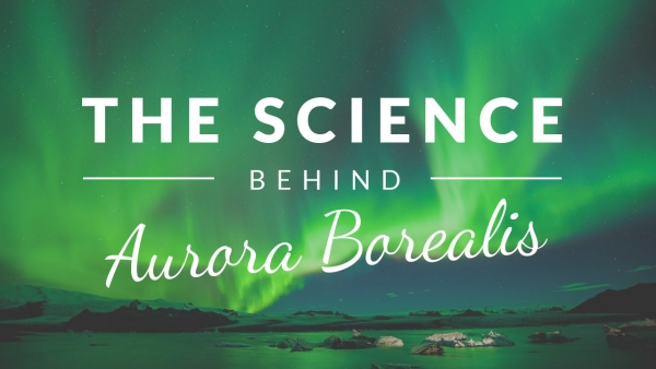 The science behind Aurora Borealis YouTube thumbnail template