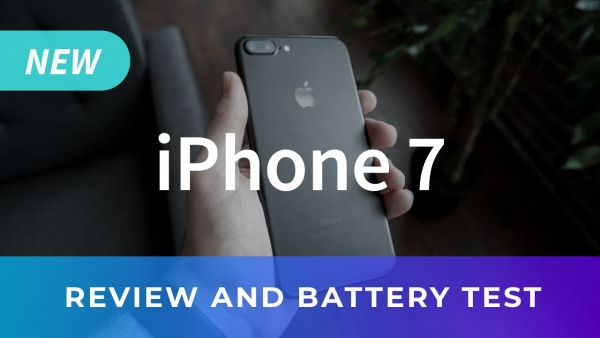 iPhone 7 YouTube thumbnail template