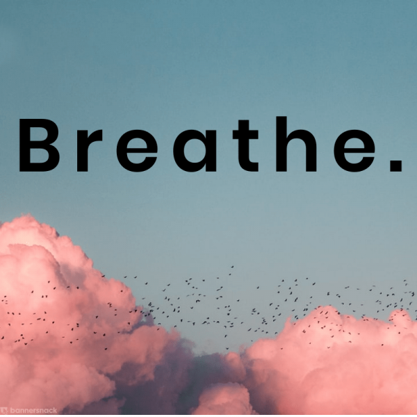 breathe quote letter spacing