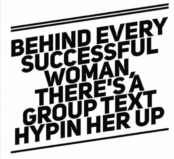 successful woman quote graphic design