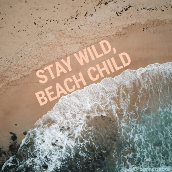 Beach quote summer graphic design