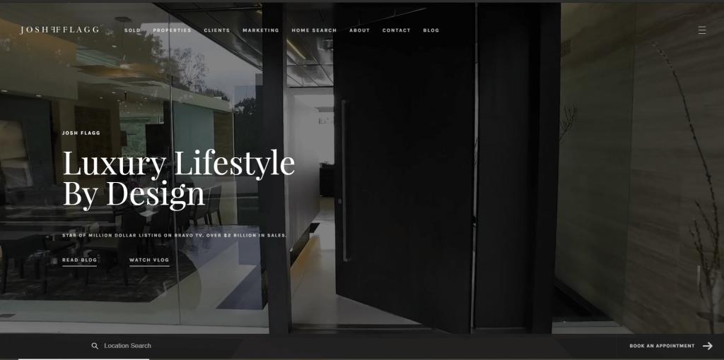 real estate marketing josh flagg homepage