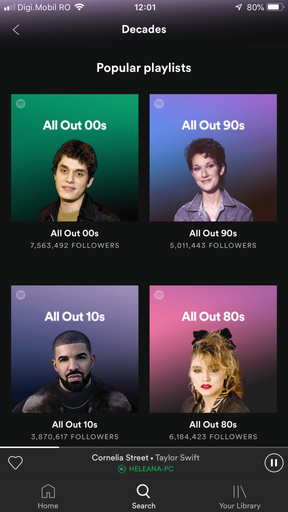 00s 90s 10s 80s music playlist cover spotify