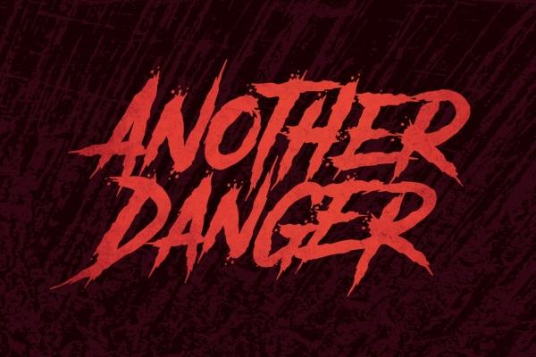 another danger font halloween