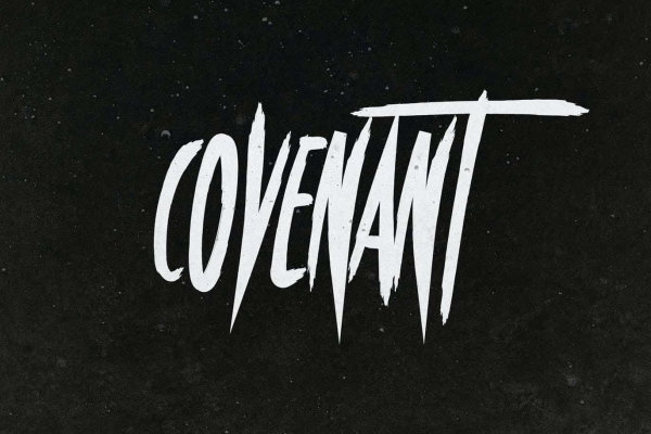 covenant halloween font