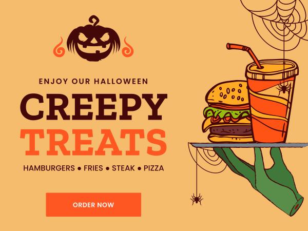 halloween food order