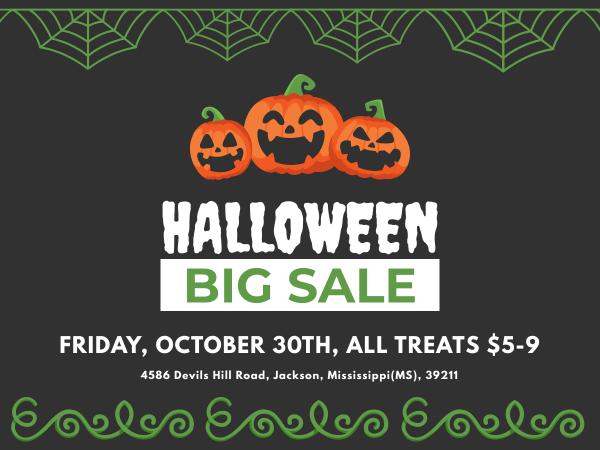 halloween big sale banner