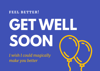 Get Well Magic Bannersnack Card Template
