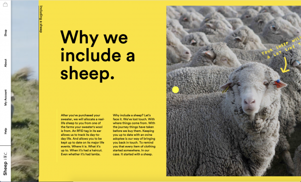 Sheep Inc. Yellow Example
