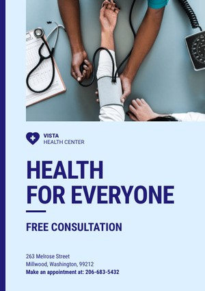 health flyer template