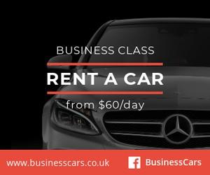 rent a car ad template