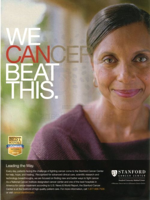 beat cancer ad