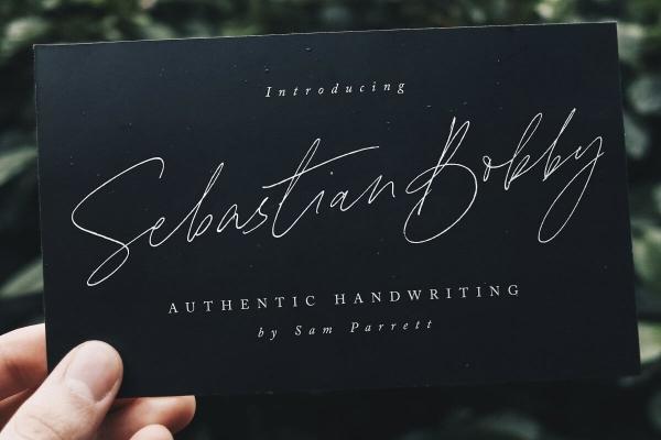 sebastian bobby font