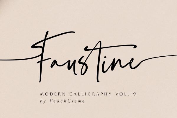 faustine font