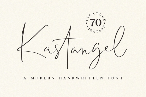 kastangel font