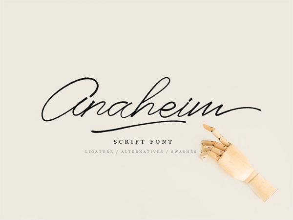 anaheim font