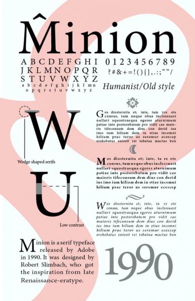 minion font