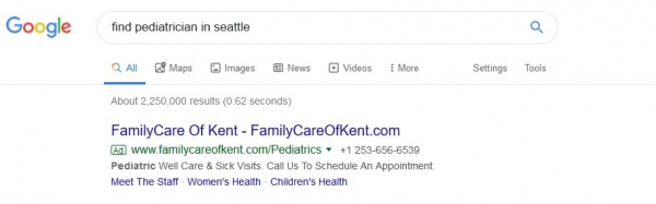 ppc healthcare example