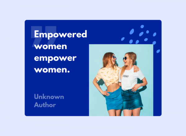 Women's Day Card - Unknwon Author