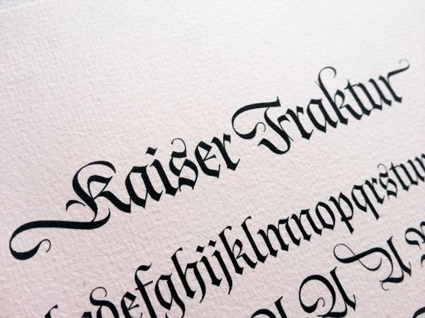 Kaiser Fraktur font