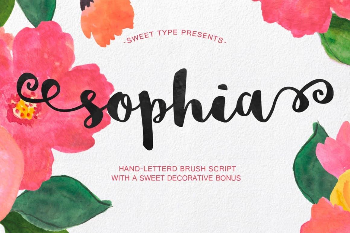 sophia font