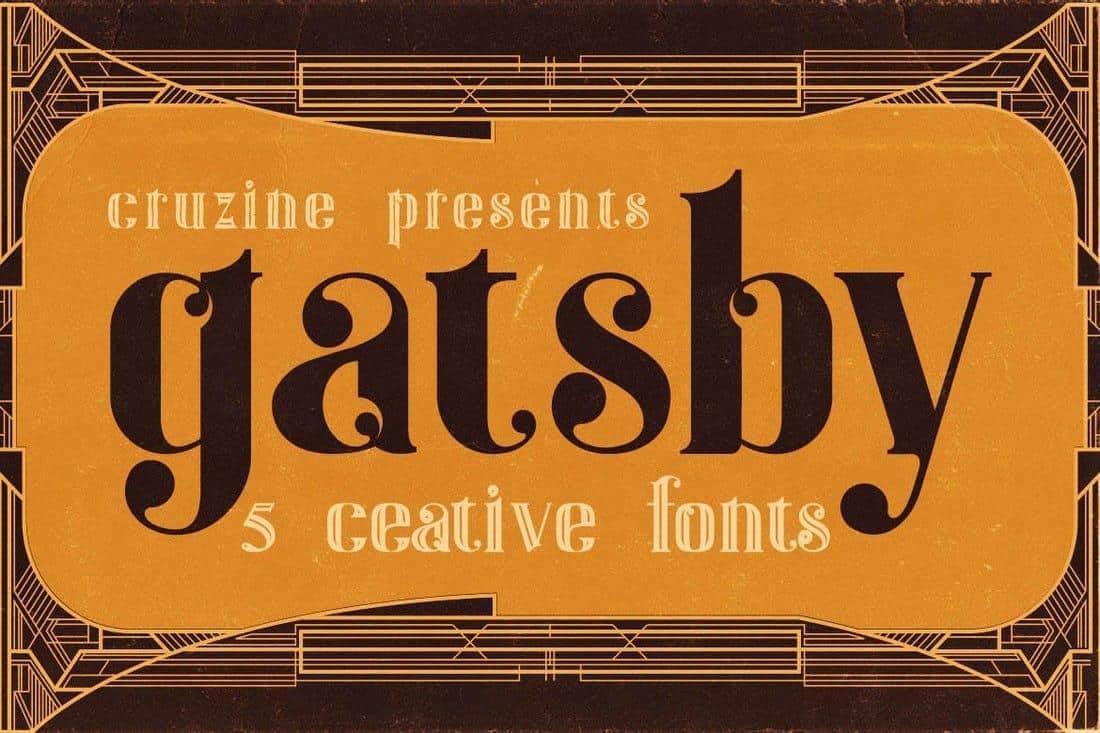 gatsby font