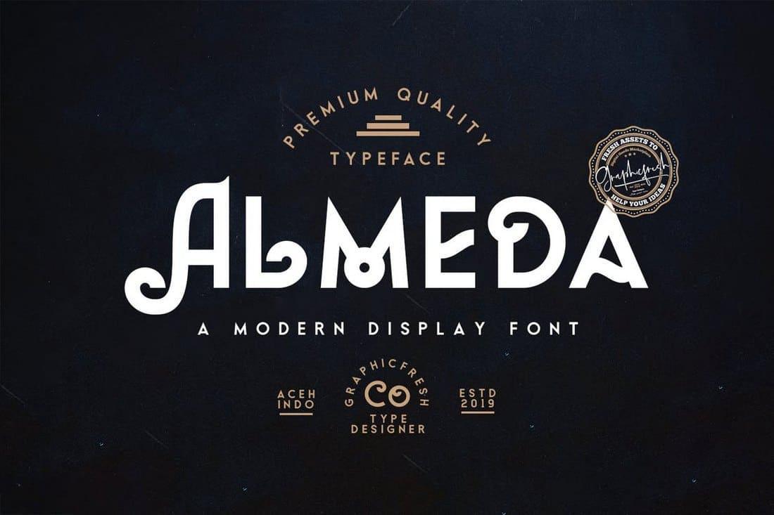 almeda font