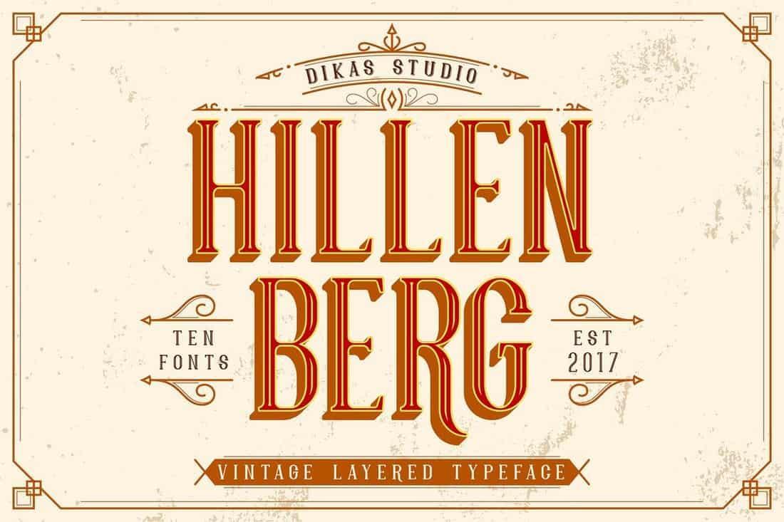 hillenberg font
