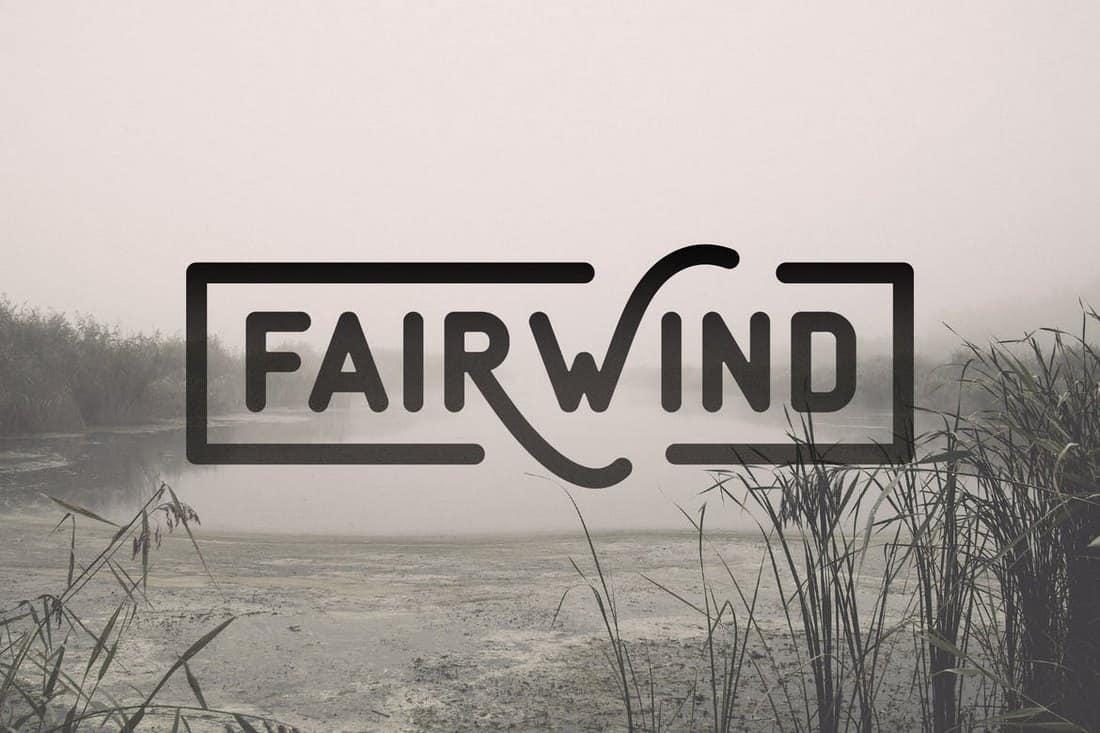 fairwind font