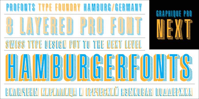 Graphique Pro Next font