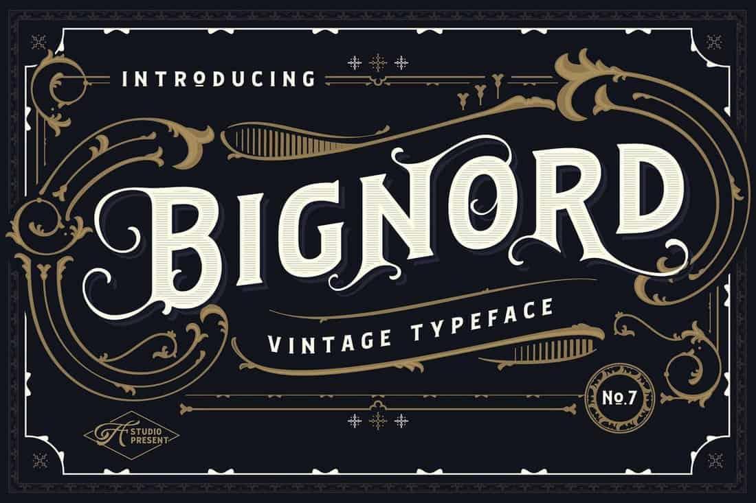 bignord font