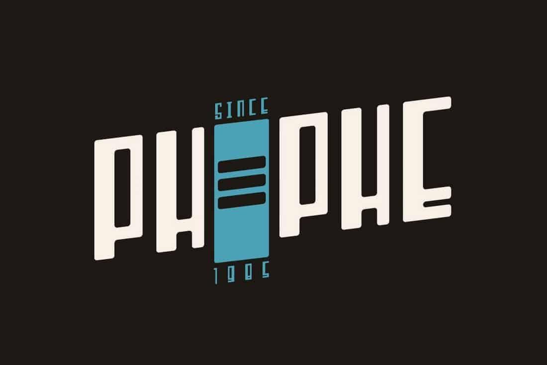 Phephe font