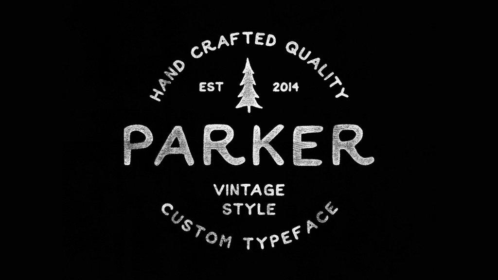 parker font