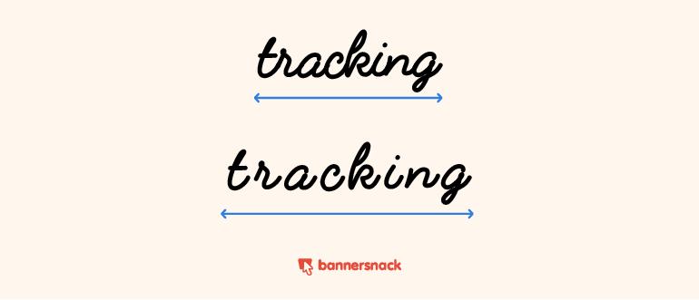 kerning tracking