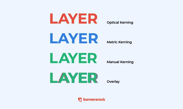 types of kerning
