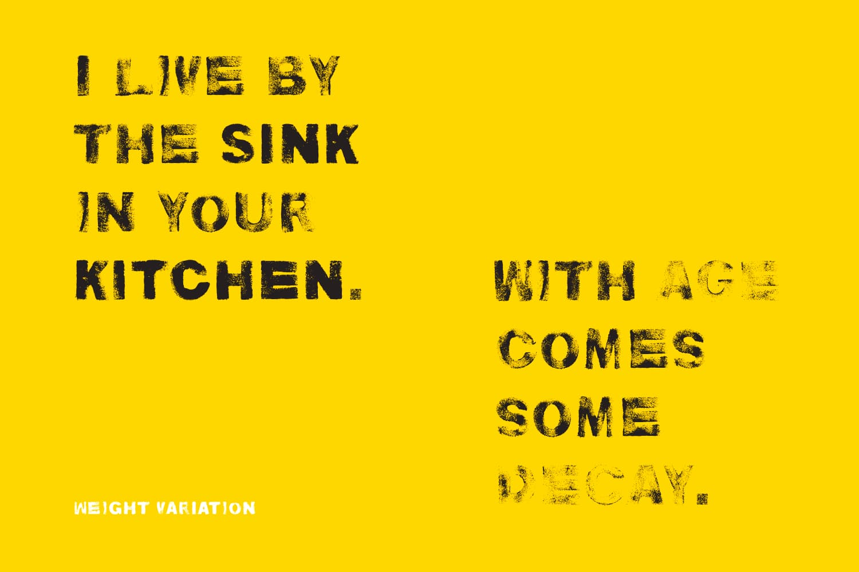 Kitchen Sink font