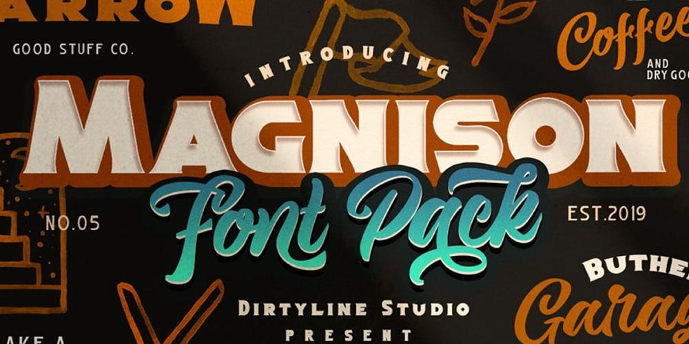 magnison font